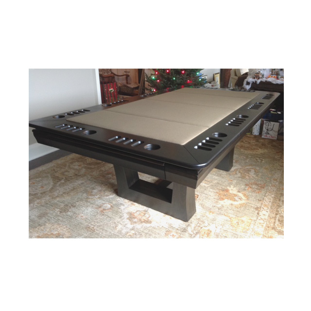 custom dining poker top for pool tables. Black Bedroom Furniture Sets. Home Design Ideas